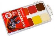 Краски акварельные BRAUBERG, 10цв, медовые, пластиковая коробка, без кисти, 190550
