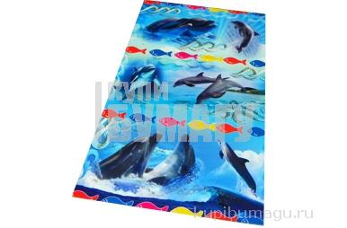 Наклейки Дельфины А6