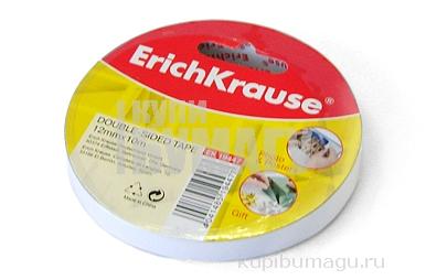 Двусторонняя клейкая лента 12mmх10m ERICH KRAUSE