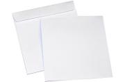 Конверты для CD/DVD без окна, бумажные, клей декстрин, 125х125мм, 201060. 25