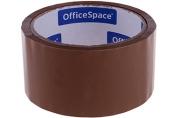 Скотч упаковочный темный 48мм*40м, 38мкм, OfficeSpace, ШК