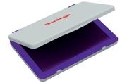 Штемпельная подушка Berlingo, 100*80мм, фиолетовая, пластиковая