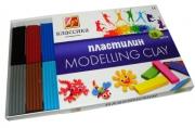 """Пластилин классический ЛУЧ """"Классика"""", 16 цв., 320г, со стеком,  картонная упаковка, 20С1329-08"""
