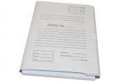 Папка с завязками картон Дело белый с расширением до 40 мм 218583