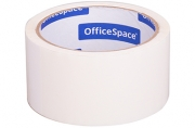 Скотч 48мм*40м, 45мкм БЕЛЫЙ ШК OfficeSpace