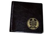 Альбом для монет OfficeSpace 105*105 на 52 монеты, 8 листов, комбинированный, карманный, ПВХ