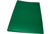 """Папка с бок. мет. приж. BRAUBERG """"Стандарт"""" зеленая, до 100 листов, 0, 6мм"""