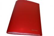 Папка 30 вклад. BRAUBERG Бюджет, красная 0,5 мм,