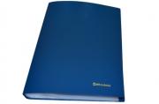 Папка 60 вклад. BRAUBERG Бюджет, синяя, 0, 6мм, 222636