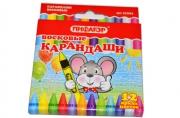 Восковые карандаши ПИФАГОР 12 цв., 222962