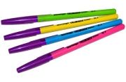 """Ручка шар синяя, 0, 7мм, ассорти Berlingo """"W-219 Color"""""""