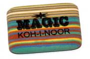 """Резинка стирательная KOH-I-NOOR """"Magic"""", 35x24x8 мм, разноцветная, ассорти, карт диспл, 6516040001KD"""