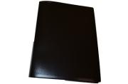 Папка 20 вклад. STAFF, черная, 0,5 мм, 225693