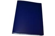 Папка 60 вклад. STAFF синяя 0,5 мм,