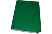 Папка 60 вклад. STAFF зеленая 0,5 мм,