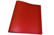 Папка 4 кольца STAFF эконом, 25мм, красная, до 120 листов, 0,5 мм,