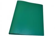 Папка 4 кольца STAFF эконом, 25мм, зеленая, до 120 листов, 0,5 мм,