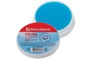 Гель для увлажнения пальцев BRAUBERG 25г, c ароматом жасмина, голубой, Россия, 225830