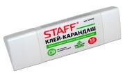 Клей-карандаш STAFF 15 г, трехгранный, 226052