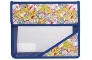 """Папка для тетрадей А5, пластиковая на липучке, с рисунком на уголке, """"Арт искусство"""", ТС, 226556"""