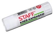 Клей-карандаш 24г STAFF