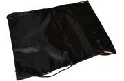 Сумка для обуви BRAUBERG ПРОЧНАЯ, на шнурке, черная, 42x33 см, 227143