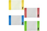 Обложка 210*350мм д/тетради и дневника ПИФАГОР цветные клапаны, ПЛОТНАЯ, 120мкм,