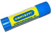Клей-карандаш 15 г, ОФИСБУРГ 227615