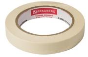 Скотч малярный креп. 19 мм х 50м (реальная длина!), профессиональн, BRAUBERG, 228085
