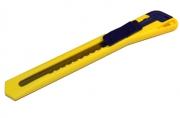 Нож универсальный BRAUBERG 9 мм, автофиксатор, цв. корп. ассорти,