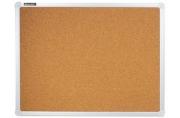 Доска пробковая BRAUBERG 45*60 см, алюминиевая рамка, ГАРАНТИЯ 10 ЛЕТ, РОССИЯ, 231711