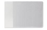 Обложка для студенческого билета, удостоверения, 106х74 мм, ПВХ, прозрачная, ДПС, 1098. К
