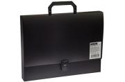 Папка-портфель 1 отделение OfficeSpace, 600мкм, черный