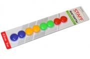 Магниты STAFF диаметр 20 мм, цвета АССОРТИ,, 236403