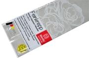 Бумага крепированная Werola, 50*250см, 32г/м2, растяжение 55%, светло-серая, в индивидуальной упаковке