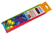 """Карандаши цветные 06цв пластиковые ArtSpace """"Подводный мир"""", заточен., картон, европодвес"""
