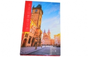 "Ежедневник недат., A5, 136л., 7БЦ ""Путешествия. Прага"", глянцевая ламинация, OfficeSpace"