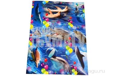 Наклейки А5 Дельфины