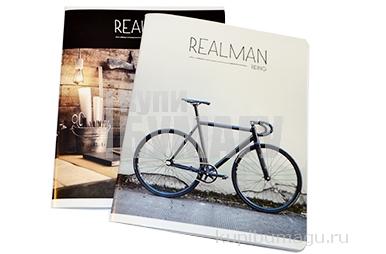 """Тетрадь 96клетка ArtSpace """"Стиль. Realman"""""""