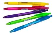 "Ручка автомат синяя, 0, 7мм, трехгр., игол.  Berlingo ""Triangle 110 RT Color"""
