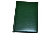 "Ежедневник недат., A6, 160л., балакрон,  ""Ariane"", зеленый, OfficeSpace"