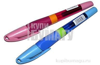 """Ручка перьевая Berlingo """"Arrow"""", 1 сменный картридж, корпус ассорти"""