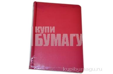 "Ежедневник недат., A5, 136л., кожзам,  ""Winner"", ярко-розовый, OfficeSpace"
