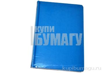 """Ежедневник недат., A5, 136л., кожзам,  """"Winner"""", ярко-синий, OfficeSpace"""