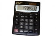 Калькулятор STAFF настольный STF-1210, 10 разрядов, двойное питание, 140х105мм