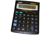 Калькулятор STAFF настольный STF-888-16, 16 разрядов, двойное питание, 200х150мм~~