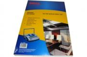Обложки для переплета картонные ProMega Office белые, кожа А3, 230г/м2
