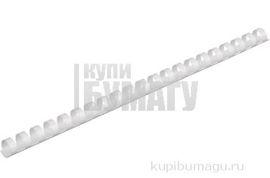 Пружины для переплета пластиковые ProMega Office 16мм белые