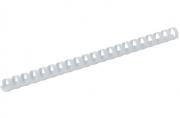 Пружины для переплета пластиковые ProMega Office 12мм белые 100шт/уп.