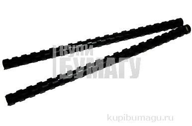 Пружины для переплета пластиковые ProMega Office 14мм черные